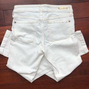 Anthropologie Pilcro crop jeans